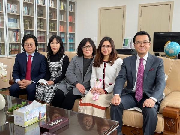 가성교회 / 새가족환영